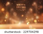 winter night street  vector... | Shutterstock .eps vector #229704298