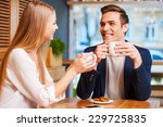 spending great time together.... | Shutterstock . vector #229725835