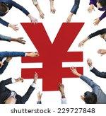 multi ethnicity of human hands... | Shutterstock . vector #229727848