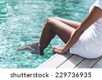 close up asian indian woman in...   Shutterstock . vector #229736935