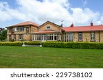 big old house with a big garden | Shutterstock . vector #229738102
