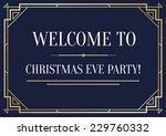 great vintage invitation sign... | Shutterstock .eps vector #229760332