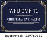 great vintage invitation sign... | Shutterstock .eps vector #229760332