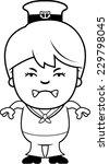 a cartoon illustration of a... | Shutterstock .eps vector #229798045