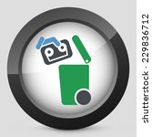 separate waste collection icon | Shutterstock .eps vector #229836712