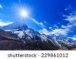 Mountain Scenery In Himalaya...
