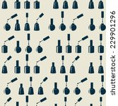 nail polish.vector illustration ... | Shutterstock .eps vector #229901296