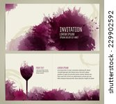 invitation template for event... | Shutterstock .eps vector #229902592