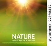 Abstract Nature Blur Backgroun...