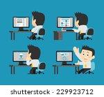 businessman set | Shutterstock .eps vector #229923712