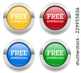 four round buttons with free...