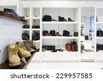bright and fashionable interior ... | Shutterstock . vector #229957585