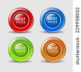 best price colorful vector icon ... | Shutterstock .eps vector #229958032