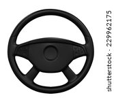steering wheel isolated | Shutterstock . vector #229962175