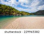 oludeniz lagoon in sea... | Shutterstock . vector #229965382