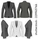 Ladies Suit Jacket For Busines...