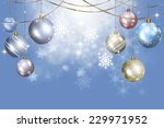 bright abstract christmas... | Shutterstock . vector #229971952