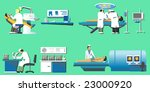 medical set. vector illustration | Shutterstock .eps vector #23000920