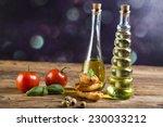 fresh olive oil  | Shutterstock . vector #230033212