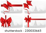 set of christmas  background... | Shutterstock .eps vector #230033665