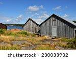 Boat Houses. Aland Islands ...