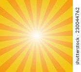 sun sunburst pattern. vector... | Shutterstock .eps vector #230044762
