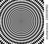 Vector Optical Illusion Zoom...