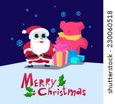 christmas greeting card   Shutterstock .eps vector #230060518