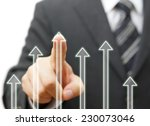 business success and growth... | Shutterstock . vector #230073046
