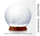 Christmas Transparent Snowglobe