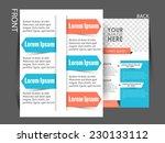 vector  business corporate... | Shutterstock .eps vector #230133112