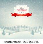 Christmas Winter Landscape...