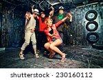 modern dancers dancing in the...   Shutterstock . vector #230160112