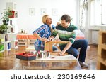 painting furniture | Shutterstock . vector #230169646