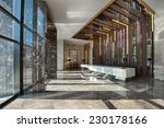 reception area of a sales office   Shutterstock . vector #230178166