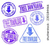 free download stamps. different ...