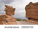 Balanced Rock In Colorado...