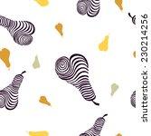 elegant seamless pattern with...   Shutterstock .eps vector #230214256