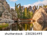 Sylvan Lake in the Black Hills of South Dakota.