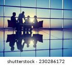 group of business people... | Shutterstock . vector #230286172