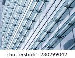 futuristic sun shade on a... | Shutterstock . vector #230299042