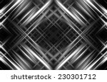 Abstract Grey Fractal...