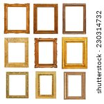 vintage rectangular frames on... | Shutterstock . vector #230314732