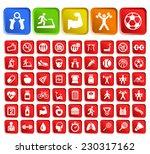 set of 50 standard quality... | Shutterstock .eps vector #230317162