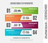 vector illustration of cascade... | Shutterstock .eps vector #230342485