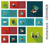 pet ui flat design background...   Shutterstock .eps vector #230344828