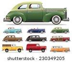 1940s Car Lineup