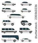 set of cars for the... | Shutterstock .eps vector #230363236