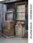 Wooden Boxes And Barrels By Th...