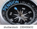 closeup of compass indicating... | Shutterstock . vector #230430652